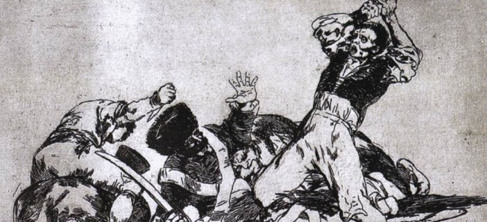 """Goya War2"" von Francisco de Goya - Web Gallery of Art: Image Info about artwork. Lizenziert unter Gemeinfrei über Wikimedia Commons - https://commons.wikimedia.org/wiki/File:Goya_War2.jpg#/media/File:Goya_War2.jpg"